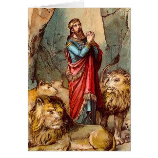 Daniel en la tarjeta de felicitación de la guarida