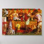 Dante Gabriel Rossetti: Sir Galahad Posters