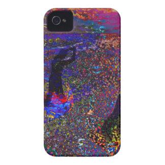 Danza, bebidas del fiesta en colores completos carcasa para iPhone 4 de Case-Mate