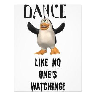 ¡Danza… como nadie observación! Folleto 21,6 X 28 Cm