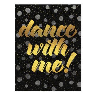 ¡Danza conmigo! Postal