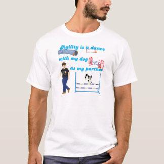 Danza de la agilidad camiseta