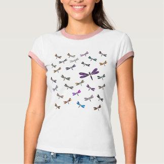 Danza de la libélula camisetas