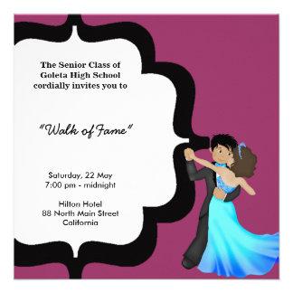 Danza de la noche del baile de fin de curso comunicado personalizado