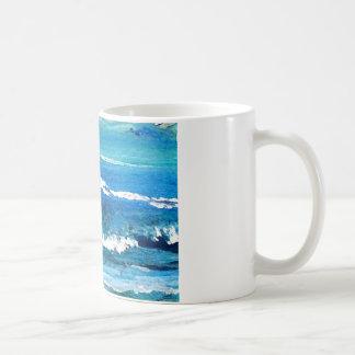 Danza de la onda - decoración del océano del crick taza