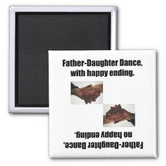 Danza de la Padre-Hija con la conclusión feliz Iman De Frigorífico
