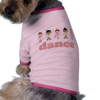 Danza de las bailarinas ropa para mascota