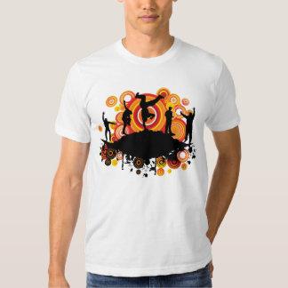 Danza de rotura MUSICAL enrrollada Camisetas