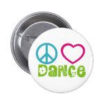 Danza del amor de la paz pin