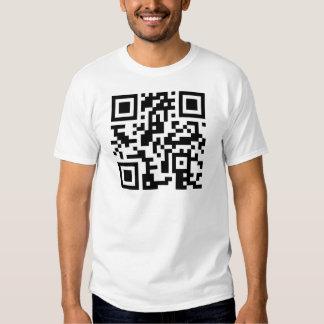 Danza del código de QR conmigo camiseta del bebé