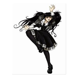 Danza del piano postal