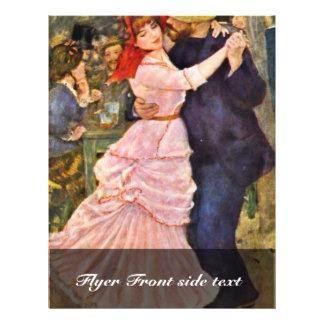 Danza en Bougival de Pierre-Auguste Renoir Tarjetas Informativas