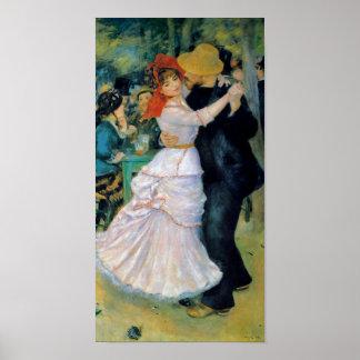 Danza en la impresión de la bella arte de Bougival