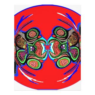Danza exótica de la araña flyer personalizado