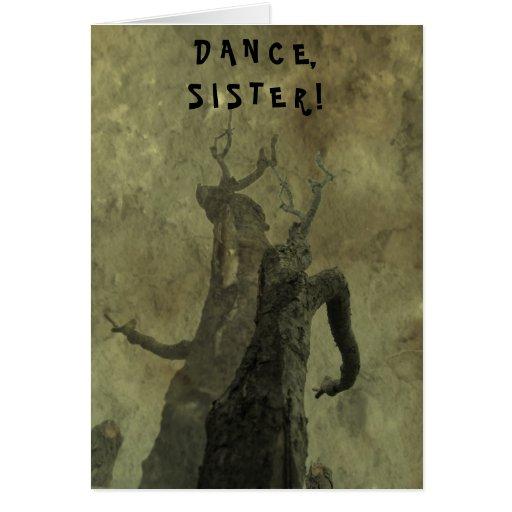 Danza, hermana tarjetas