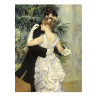 Danza por Renoir, arte de la ciudad del Postal