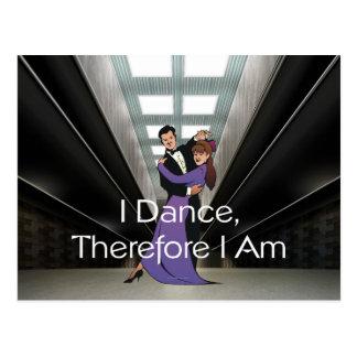 Danza SUPERIOR por lo tanto estoy Postal