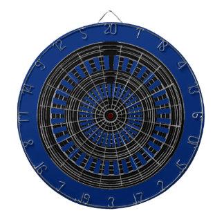 DARDO Chakra - duro áspero de las ruedas de plata Tabla Dardos