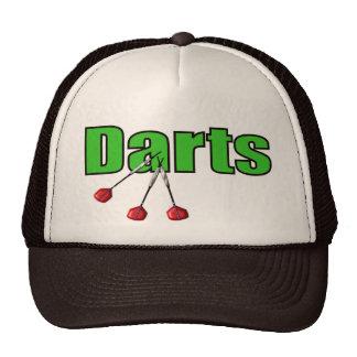 Dardos con 3 dardos gorras