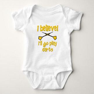 Dardos divertidos body para bebé