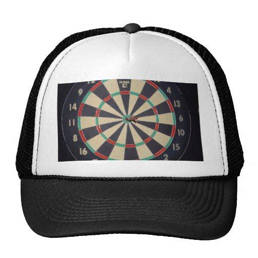 Dart_Board, _Red_Dart, _Bulls_Eye, Gorras De Camionero