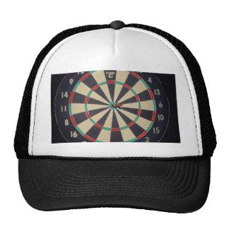 Dart_Board, _Red_Dart, _Bulls_Eye, Gorro De Camionero