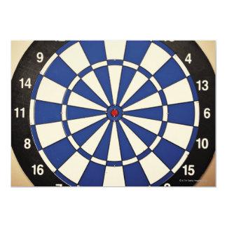 Dartboard 2 invitación 12,7 x 17,8 cm
