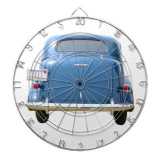 ¡Dartboard - azul Chevy del vintage 1940! Tablero De Dardos