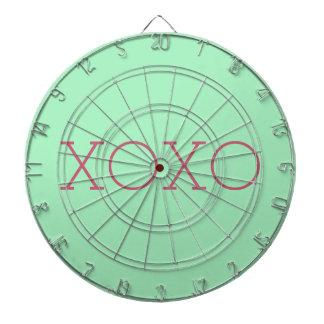 Dartboard de la jaula del metal de XOXO Tabla Dardos