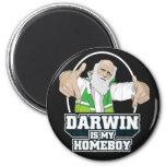 Darwin es mi Homeboy (a todo color) Imán De Frigorífico