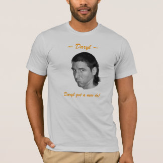 ¡Daryl consiguió un nuevo hace! Camiseta