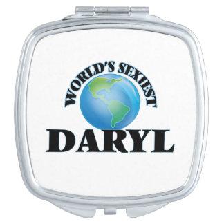 Daryl más atractivo del mundo espejo de maquillaje