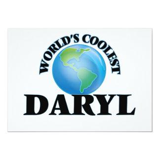 Daryl más fresco del mundo invitación 12,7 x 17,8 cm
