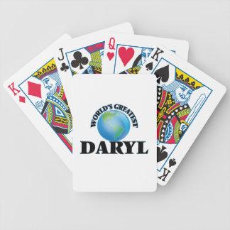 Daryl más grande del mundo cartas de juego