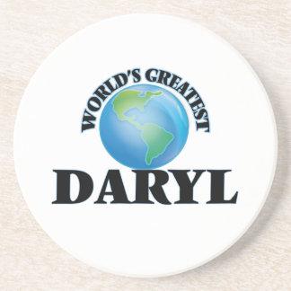 Daryl más grande del mundo posavasos personalizados