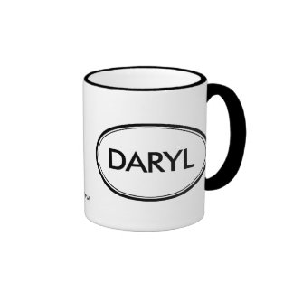 Daryl Tazas De Café