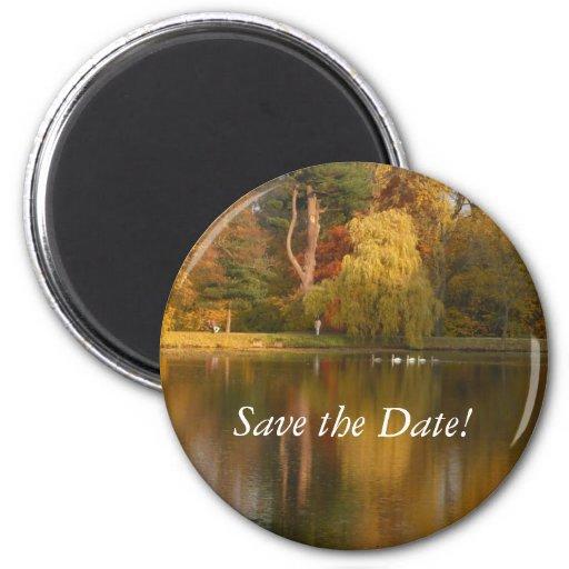 Date Save the (Autumn Lake imán)