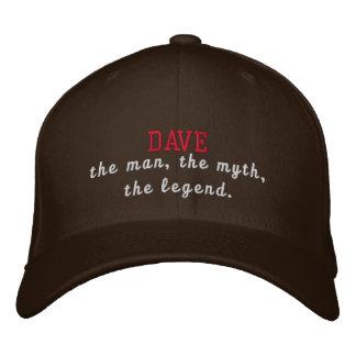 Dave la leyenda gorro bordado