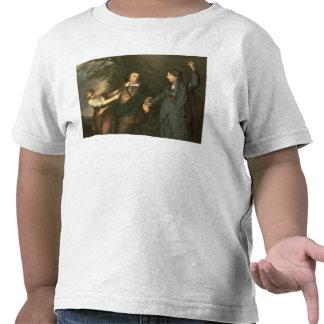 David Garrick entre las musas de la tragedia Camiseta