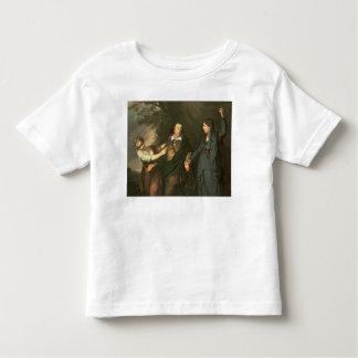 David Garrick entre las musas de la tragedia Camiseta De Bebé