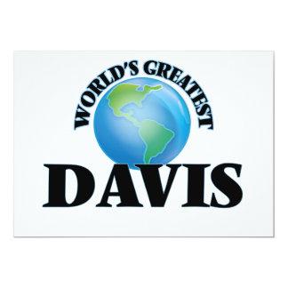 Davis más grande del mundo anuncios