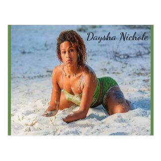 Daysha Nichole McGinnis, playa, postal