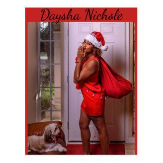 Daysha Nichole, Srta. Santa, postal