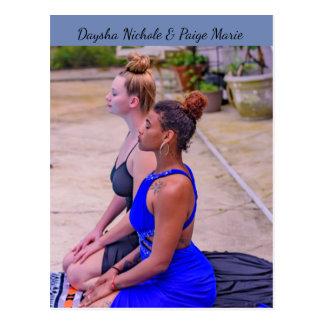 Daysha Nichole y Paige Marie, postal