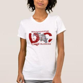 DC en el rojo (2x) Camisetas