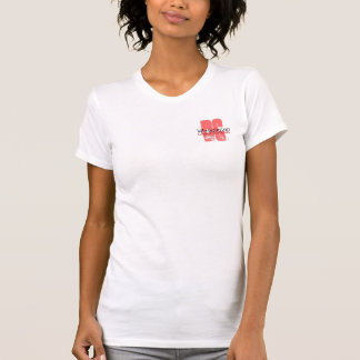 DC en el rosa (p) Camiseta