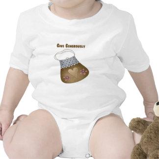 Dé abundante el monedero trajes de bebé