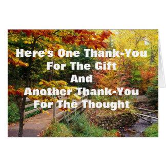 De agradecimiento #1 millón tarjeta de felicitación