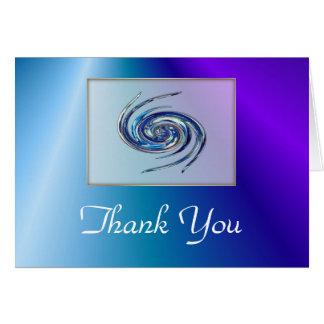 De agradecimiento de la bruja de agua tarjeta de felicitación