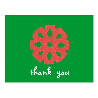 De agradecimiento del navidad de los gráficos del postal